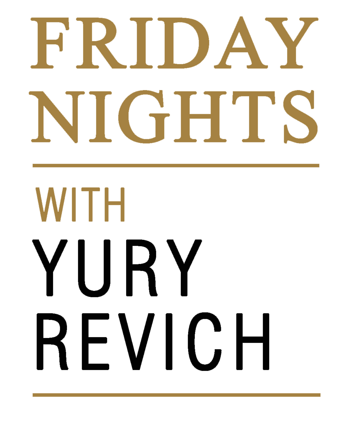 Friday Nights with Yury Revich